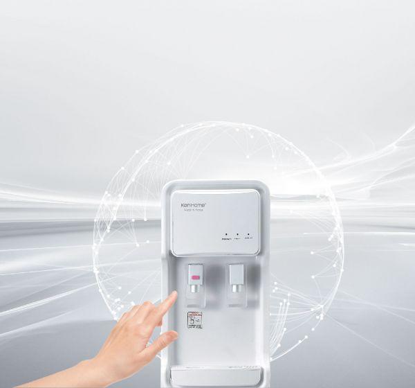Máy lọc nước tích hợp nóng lạnh Hàn Quốc Korihome WPK-903