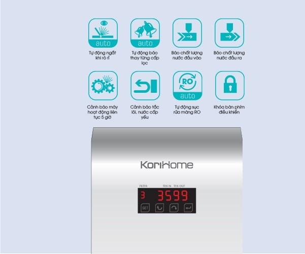 Máy lọc nước Korihome WPK-606